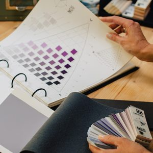Färgsättningsverktyg